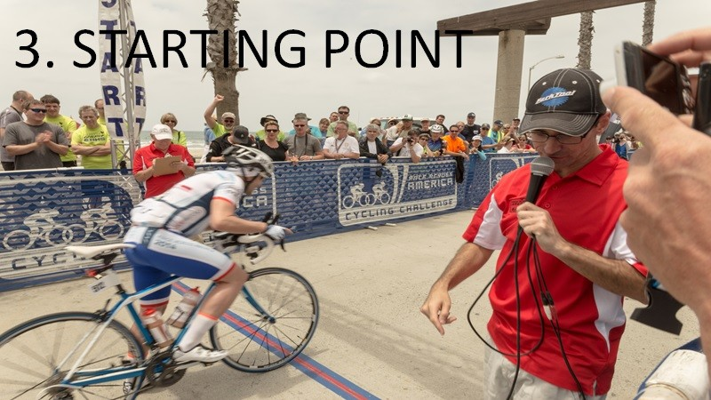 HOW TO FINISH A REALLY LONG RACE? STAGE 3. STARTING POINT.